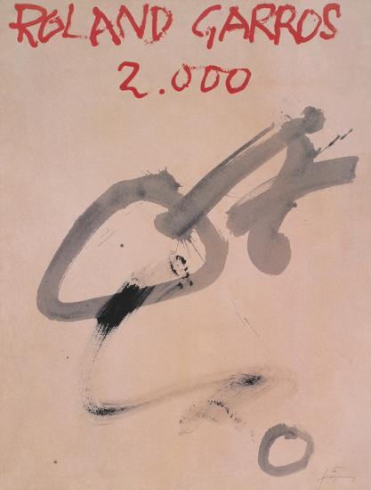 Roland Garros, 2000-Antoni Tapies-Collectable Print