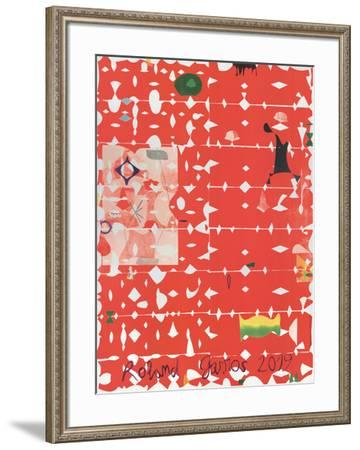 Roland Garros French Open-Jose Maria Sicilia-Framed Collectable Print