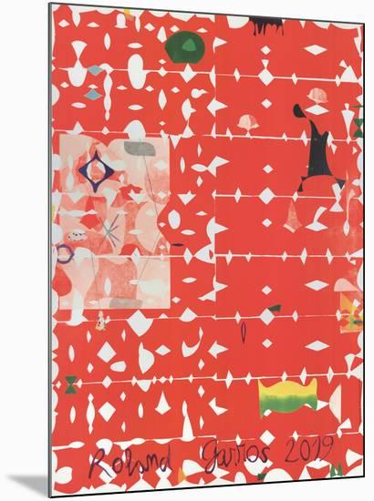 Roland Garros French Open-Jose Maria Sicilia-Mounted Collectable Print