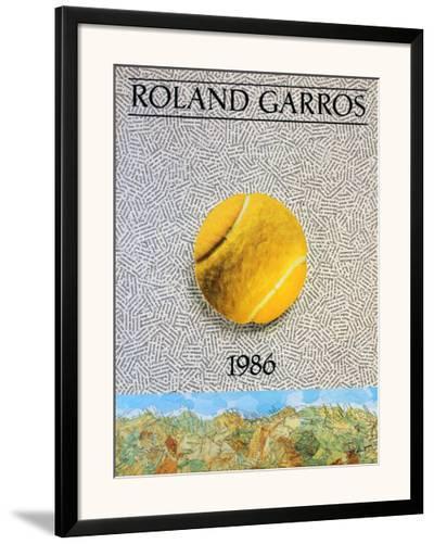 Roland Garros-Jiri Kolar-Framed Art Print