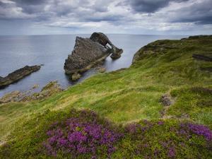 Bow Fiddle Rock, Portknockie, Scotland by Roland Gerth