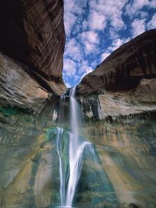 Calf Creek Falls, Utah, USA by Roland Gerth