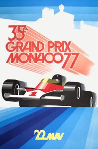 Monaco Grand Prix 1977 by Roland Hugon