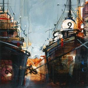 2 bateaux by Roland Palmaerts