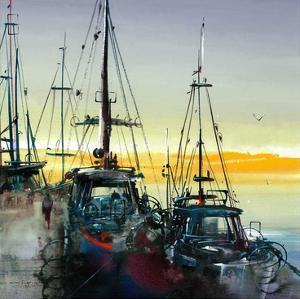 Port de mer by Roland Palmaerts