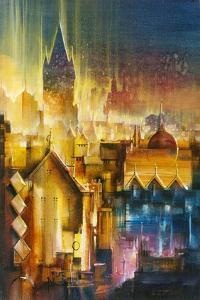Ville lumière by Roland Palmaerts