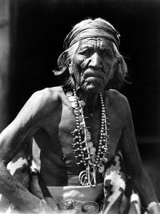 Navajo Man, C1913 by Roland Reed