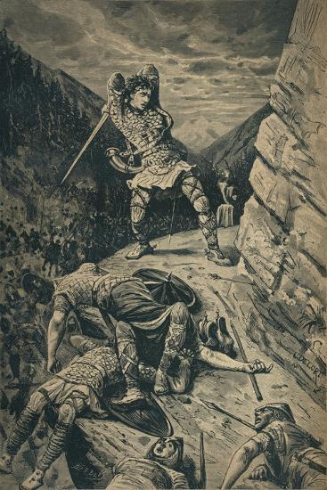 'Roland, the Hero of the National Epic of France', 1909-Unknown-Giclee Print