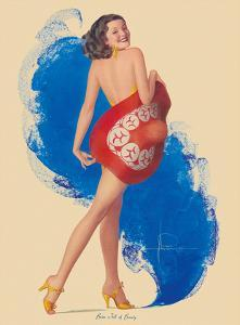 Brim Full of Beauty by Rolf Armstrong