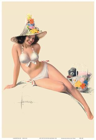 She's Tops! - Famous Pin-Up Model Jewel Flowers