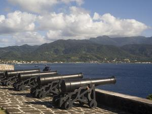 Fort Shirley, Cabrits National Park, Portsmouth, Dominica, West Indies, Caribbean, Central America by Rolf Richardson