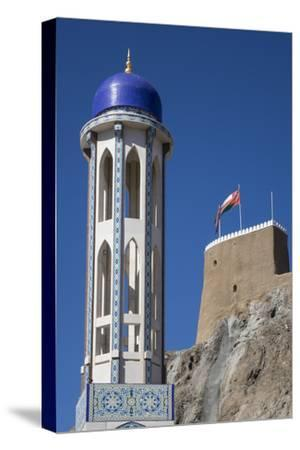 Mosque and Fort, Old Muscat, Oman, Middle East