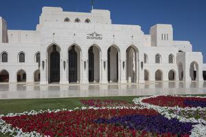 Royal Opera House, Muscat, Oman, Middle East by Rolf Richardson