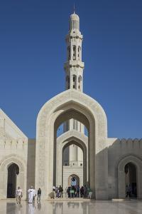 Sultan Qaboos Mosque, Muscat, Oman, Middle East by Rolf Richardson