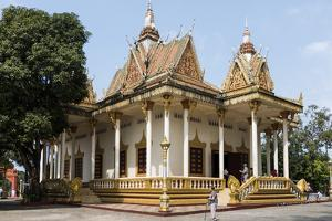 Wat Krom (Intra Ngean Pagoda), Sihanoukville, Cambodia, Indochina, Southeast Asia, Asia by Rolf Richardson