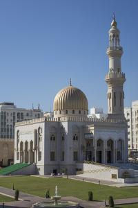 Zawawi Mosque, Muscat, Oman, Middle East by Rolf Richardson