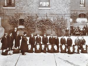 Roll Call of Boys About to Emigrate to Canada, Essex, 1908