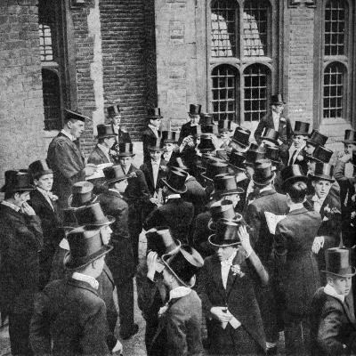 Roll Call of Etonians on the 4th June, Berkshire, C1922--Giclee Print