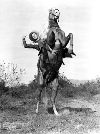 Roll On Texas Moon, Roy Rogers With Trigger The Horse, 1946