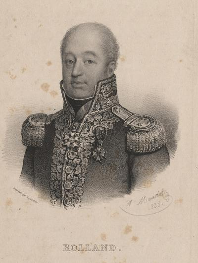 Rolland, Litho by Lemercier, 1835-Antoine Maurin-Giclee Print