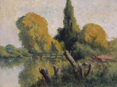 Rolleboise, Small Arm of the Seine in Autumn, C.1925-Maximilien Luce-Giclee Print