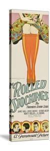 ROLLED STOCKINGS, bottom from left: James Hall, Louise Brooks, Richard Arlen, Nancy Phillips, 1927.