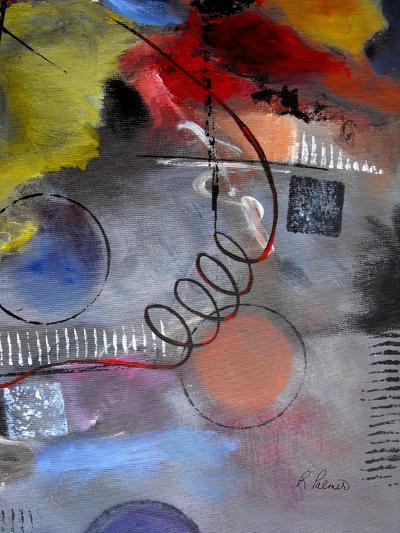 Roller Derby III-Ruth Palmer-Art Print