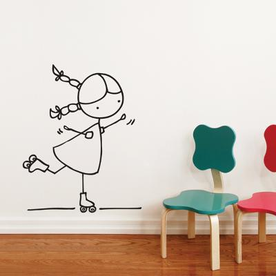 Rollersk8er Wall Decal--Wall Decal
