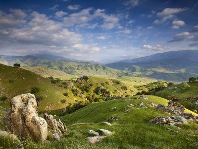 Rolling Green Hills of Central California No.4-Ian Shive-Photographic Print