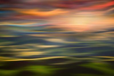 Rolling Hills at Sunset Copy-Ursula Abresch-Photographic Print