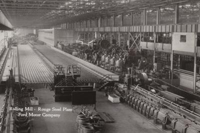 Rolling Mill, Rouge Steel Plant; Ford Motor Company, Dearborn, Michigan