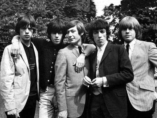 Rolling Stones, 1964-Associated Newspapers-Photo