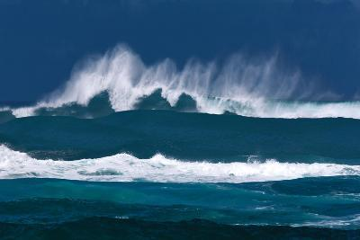 Rolling Waves-Dennis Frates-Photographic Print