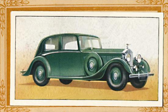 'Rolls-Royce 20-25 Saloon', c1936-Unknown-Giclee Print