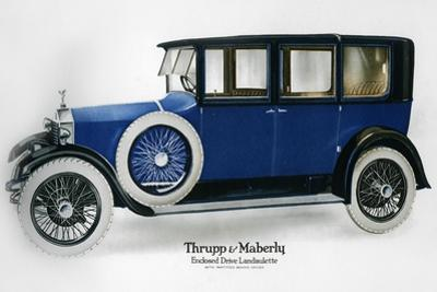 Rolls-Royce Enclosed Drive Landaulette with Partition Behind the Driver, C1910-1929