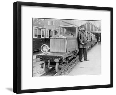 Rolls-Royce Silver Ghost Locomotive on the Romney, Hythe and Dymchurch Railway, 1933