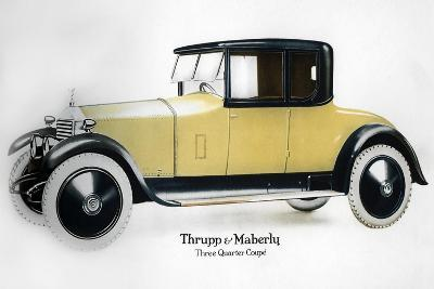 Rolls-Royce Three Quarter Coupe, 1910-1929--Giclee Print