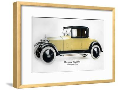 Rolls-Royce Three Quarter Coupe, 1910-1929