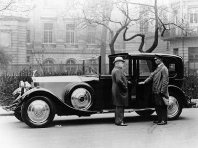 Rolls Royce with Chauffeur