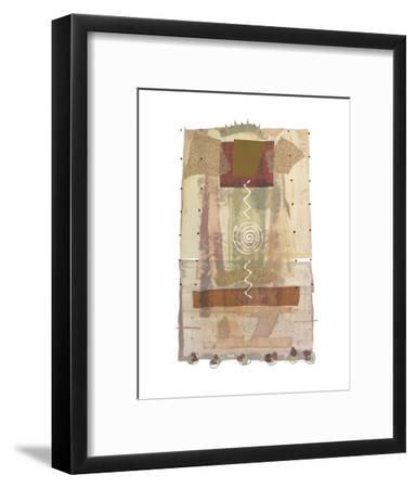 Roma (copper foil stamped)-P^G^ Gravele-Framed Art Print