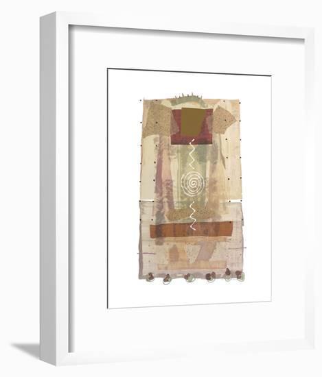 Roma (copper foil stamped)-P.G. Gravele-Framed Art Print