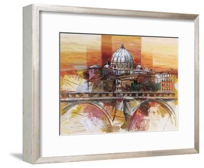 Roma eterna-Luigi Florio-Framed Art Print