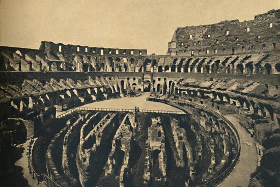 'Roma - Flavien Ampitheatre', 1910-Unknown-Giclee Print