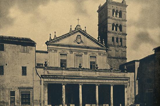 'Roma - St. Caecilia's Church', 1910-Unknown-Photographic Print