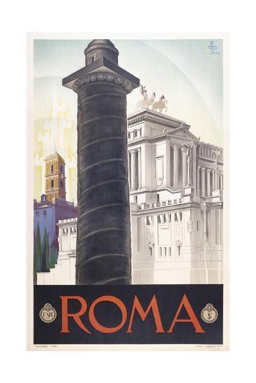 Roma-Marcus Jules-Giclee Print