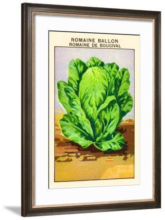 Romaine Ballon; Romain De Bougival--Framed Art Print