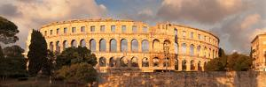 Roman Amphitheater at Sunset, Pula, Istria, Croatia
