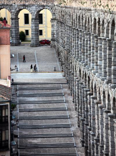 Roman Aqueduct (Aqueduct of Segovia)-Bruce Bi-Photographic Print