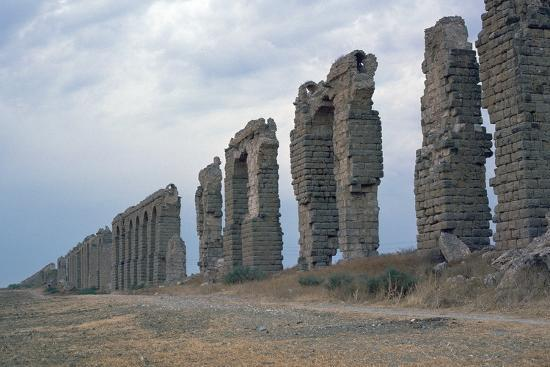 Roman aqueduct in Carthage-Unknown-Photographic Print