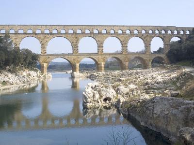 Roman Aqueduct, Pont Du Gard, UNESCO World Heritage Site, Languedoc, France, Europe-Ethel Davies-Photographic Print